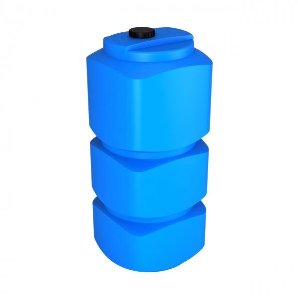 Новая пластиковая ёмкость (вертикальная)объёмом семьсот пятьдесят литров,идеально подойдёт для хранения дизеля,воды.пищевой продукции,по самой низкой цене в Москве.