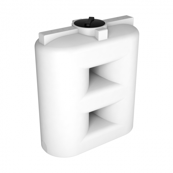 Белая пластиковая ёмкость объёмом тысячу пятьсот литров,большое преимущество что ёмкость можно занести в любой дверной проём,очень низкая цена в Москве.