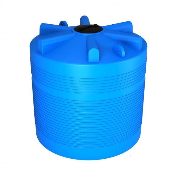 Пластиковая ёмкость объёмом пять тысяч литров(пять тонн) для питьевой воды,дизельного топлива,пищевых продуктов по самой низкой цене в Москве.