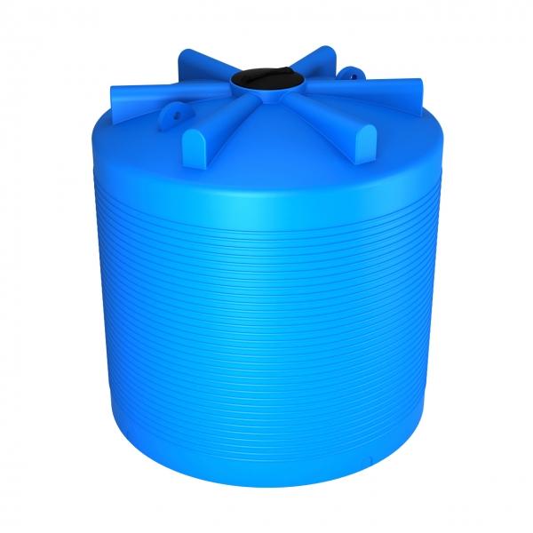 Удобная пластиковая ёмкость объёмом семь с половиной тонн(семь тысяч пятьсот литров)идеально подойдёт для питьевой воды или дизеля,с сертификатом соответствия,дёшево в Москве.