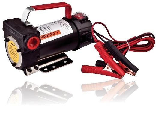 Самовсасывающийцентробежныйнасос для перекачки и заправки дизельного топлива на двенадцать вольт