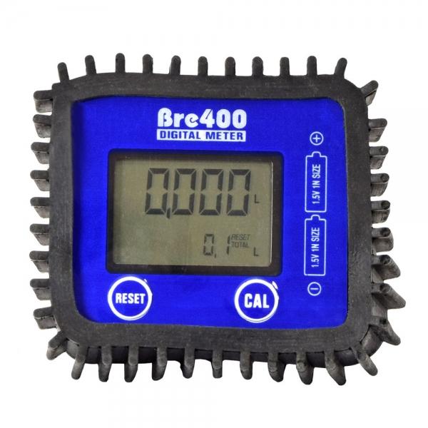 Электронный счетчик учета топлива с высокой точность измерит расход дизельного топлива или масла. Для определения количества перекачанных литров имеется две шкалы