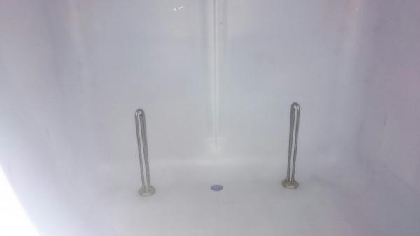 Еврокуб 1000 л, б/у, чистый пропаренный с подогревом 2 тэна и утеплением (поддон дерево)